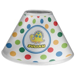 Dots & Dinosaur Coolie Lamp Shade (Personalized)