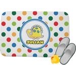 Dots & Dinosaur Memory Foam Bath Mat (Personalized)