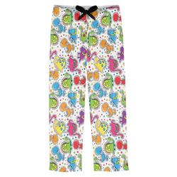 Dots & Dinosaur Mens Pajama Pants (Personalized)