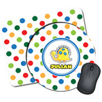 Dots & Dinosaur Mouse Pads (Personalized)