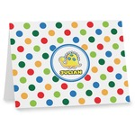 Dots & Dinosaur Note cards (Personalized)