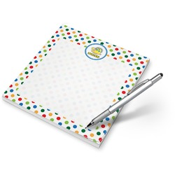 Dots & Dinosaur Notepad (Personalized)