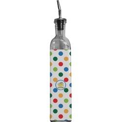 Dots & Dinosaur Oil Dispenser Bottle (Personalized)