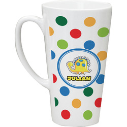 Dots & Dinosaur Latte Mug (Personalized)
