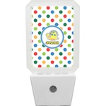 Dots & Dinosaur Night Light (Personalized)
