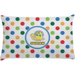Dots & Dinosaur Pillow Case (Personalized)