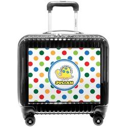 Dots & Dinosaur Pilot / Flight Suitcase (Personalized)