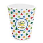 Dots & Dinosaur Plastic Tumbler 6oz (Personalized)
