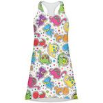 Dots & Dinosaur Racerback Dress (Personalized)