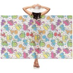 Dots & Dinosaur Sheer Sarong (Personalized)