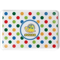 Dots & Dinosaur Serving Tray (Personalized)