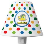 Dots & Dinosaur Shade Night Light (Personalized)