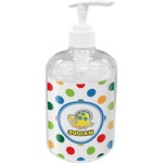Dots & Dinosaur Soap / Lotion Dispenser (Personalized)