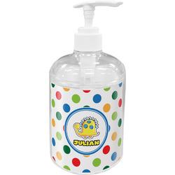 Dots & Dinosaur Acrylic Soap & Lotion Bottle (Personalized)
