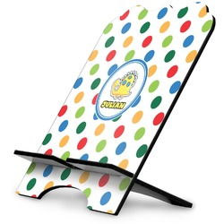 Dots & Dinosaur Stylized Tablet Stand (Personalized)