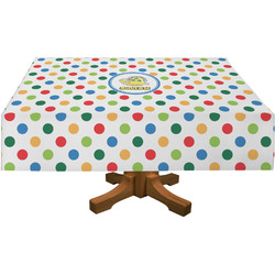 Dots & Dinosaur Tablecloth (Personalized)