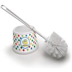Dots & Dinosaur Toilet Brush (Personalized)