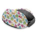 Dots & Dinosaur Travel Neck Pillow