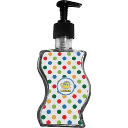 Dots & Dinosaur Wave Bottle Soap / Lotion Dispenser (Personalized)