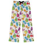 Dots & Dinosaur Womens Pajama Pants (Personalized)