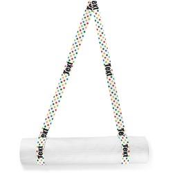 Dots & Dinosaur Yoga Mat Strap (Personalized)