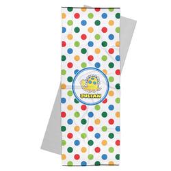 Dots & Dinosaur Yoga Mat Towel (Personalized)
