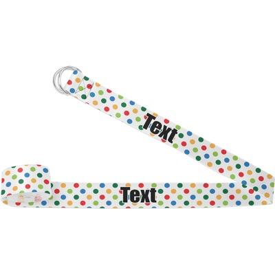 Dots & Dinosaur Yoga Strap (Personalized)
