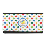 Dots & Dinosaur Leatherette Ladies Wallet (Personalized)
