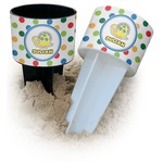 Dots & Dinosaur Beach Spiker Drink Holder (Personalized)