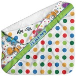 Dinosaur Print & Dots Baby Hooded Towel (Personalized)