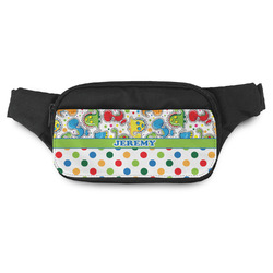 Dinosaur Print & Dots Fanny Pack (Personalized)