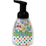 Dinosaur Print & Dots Foam Soap Dispenser (Personalized)