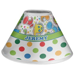 Dinosaur Print & Dots Coolie Lamp Shade (Personalized)