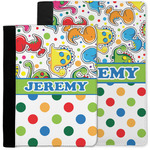 Dinosaur Print & Dots Notebook Padfolio w/ Name or Text