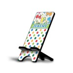 Dinosaur Print & Dots Phone Stand (Personalized)