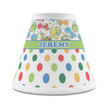 Dinosaur Print & Dots Chandelier Lamp Shade (Personalized)