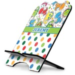 Dinosaur Print & Dots Stylized Tablet Stand (Personalized)