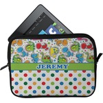 Dinosaur Print & Dots Tablet Case / Sleeve (Personalized)