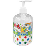 Dinosaur Print & Dots Soap / Lotion Dispenser (Personalized)