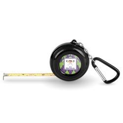 Astronaut, Aliens & Argyle Pocket Tape Measure - 6 Ft w/ Carabiner Clip (Personalized)