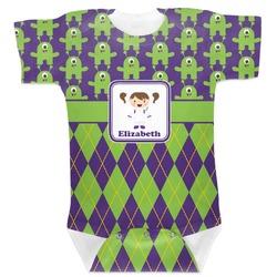 Astronaut, Aliens & Argyle Baby Bodysuit (Personalized)