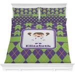 Astronaut, Aliens & Argyle Comforter Set (Personalized)