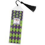 Astronaut, Aliens & Argyle Book Mark w/Tassel (Personalized)