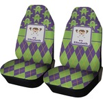 Astronaut, Aliens & Argyle Car Seat Covers (Set of Two) (Personalized)