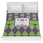 Astronaut, Aliens & Argyle Comforter (Personalized)
