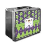 Astronaut, Aliens & Argyle Lunch Box (Personalized)