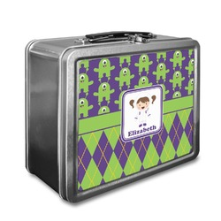 Astronaut, Aliens & Argyle Lunch Box (Personalized)