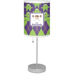 "Astronaut, Aliens & Argyle 7"" Drum Lamp with Shade (Personalized)"