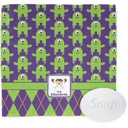 Astronaut, Aliens & Argyle Wash Cloth (Personalized)