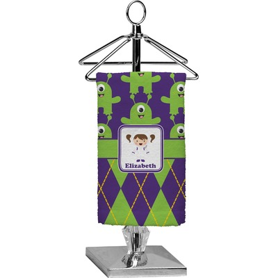 Astronaut, Aliens & Argyle Finger Tip Towel - Full Print (Personalized)